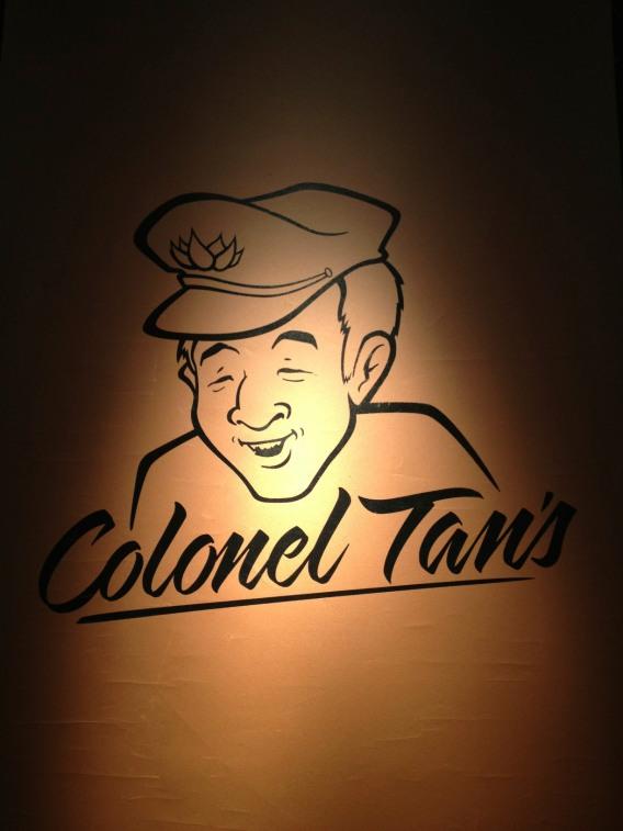 colonel tan signage