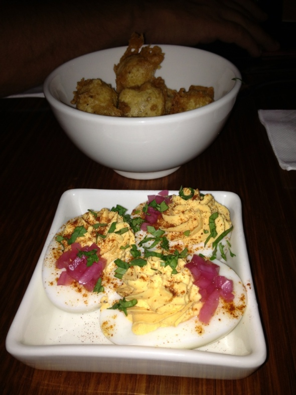 Entrees: A new take on Jalepaño Poppers and a posh Deviled Egg